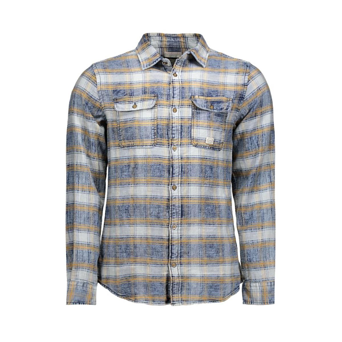 jjvauburn shirt l/s utility auw 12107982 jack & jones overhemd narcissus