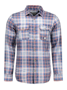 Jack & Jones Overhemd JJVAUBURN SHIRT L/S UTILITY AUW 12107982 Bossa Nova