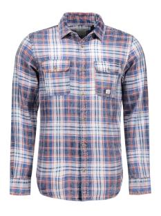 jjvauburn shirt l/s utility auw 12107982 jack & jones overhemd bossa nova