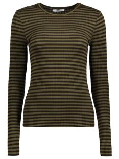 pcraya round neck blouse noos 17073091 pieces t-shirt dark olive