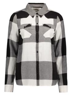 nmerik l/s shirt 10164277 noisy may blouse black/white