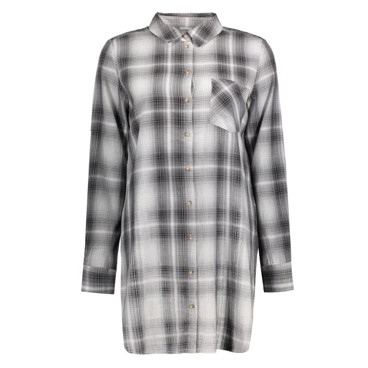 jdydancer l/s long shirt wvn 15121486 jacqueline de yong tuniek cloud dancer/grey