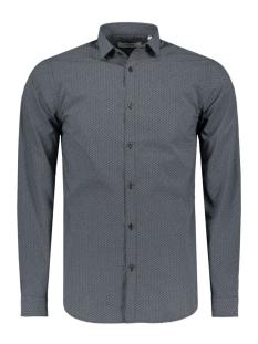 jprwave shirt l/s plain 12115771 jack & jones overhemd black