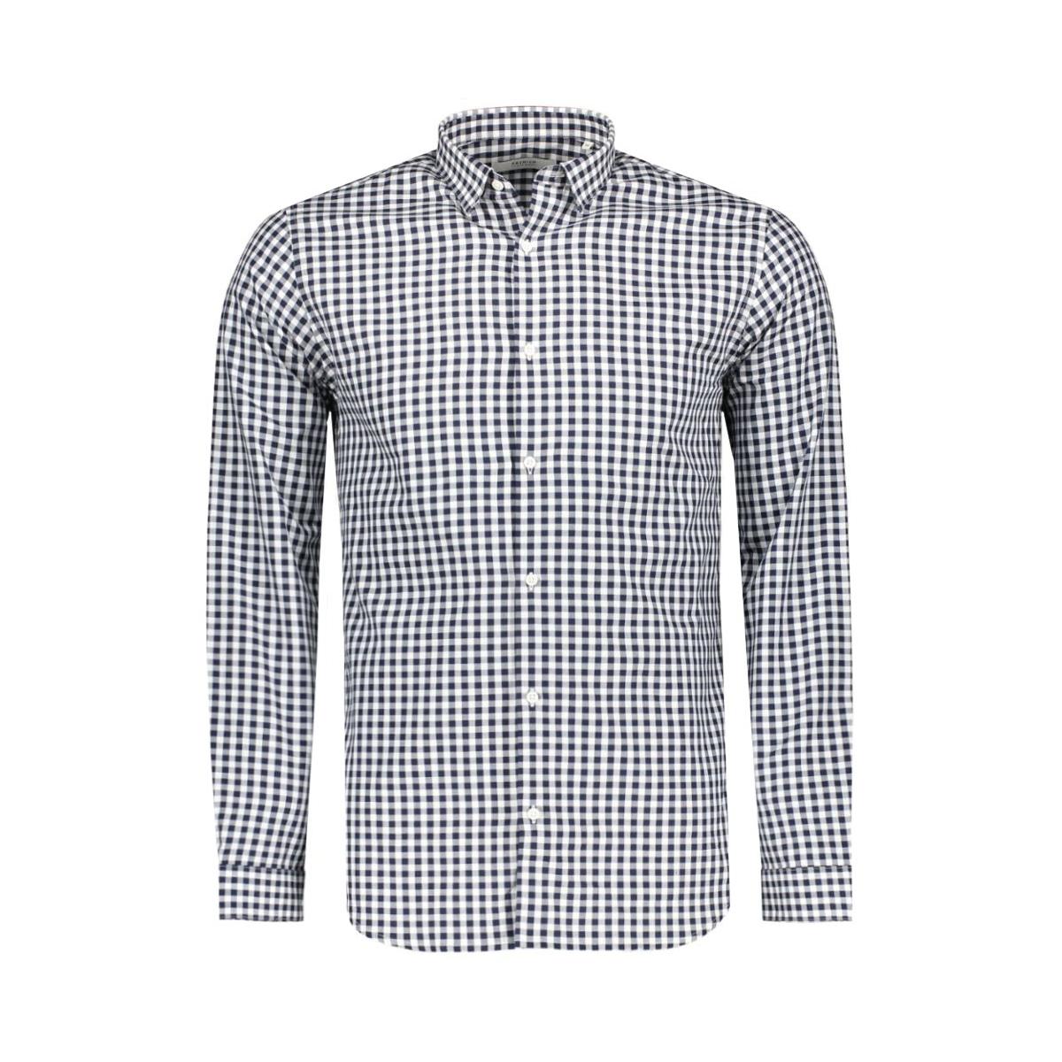jprbrad shirt l/s noos 12116632 jack & jones overhemd white/check