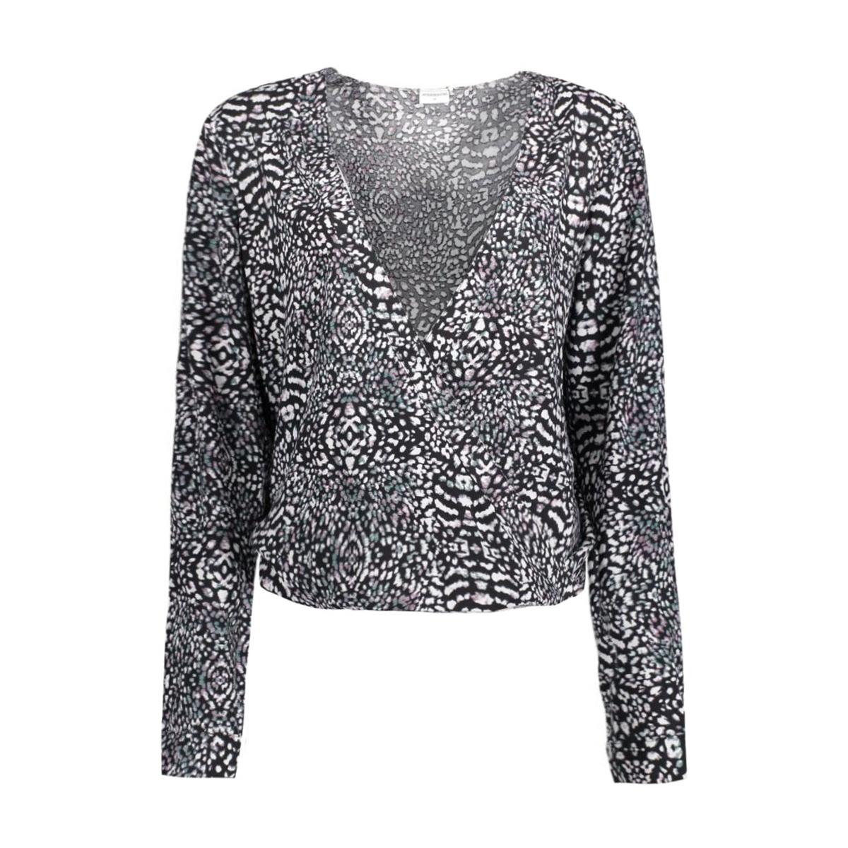 jdylyla l/s shirt wvn 15120302 jacqueline de yong blouse cloud dancer/lyla leo
