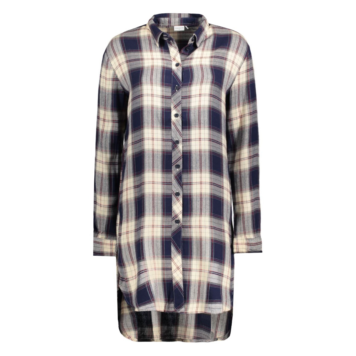 jdywaldo l/s x- long shirt 15126737 jacqueline de yong blouse cloud dancer/waldo clou