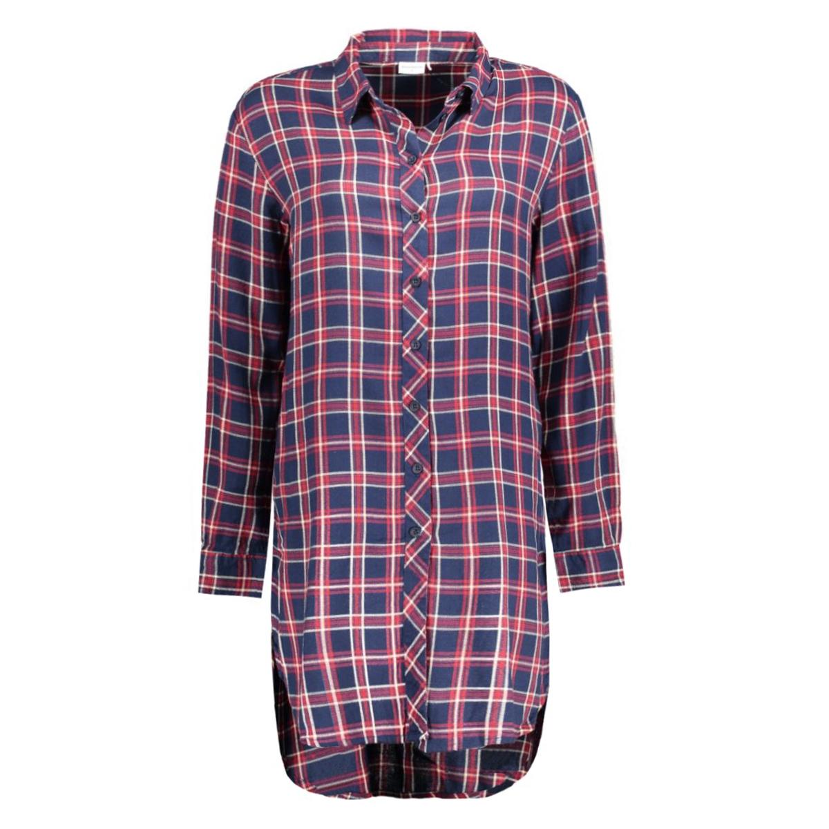 jdywaldo l/s x- long shirt 15126737 jacqueline de yong blouse sky captain