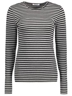 Pieces T-shirt PCRAYA ROUND NECK BLOUSE NOOS 17073091 Lioht Grey Melange