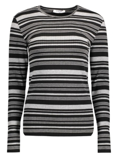 Pieces T-shirt PCDAYA LS TEE 17078225 Light Grey Melange