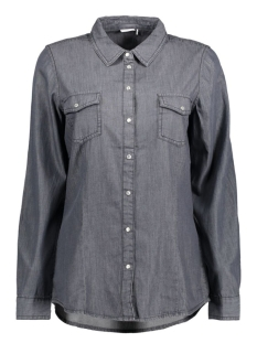 Jacqueline de Yong Blouse JDYSPENCER L/S SHIRT WVN 11 15128009 Dark Grey Denim