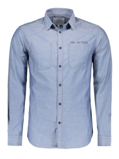 JCOSOPE SHIRT ONE POCKET L/S 12114898 Blue Denim