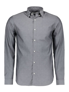 Jack & Jones Overhemd JPRJAKE SHIRT L/S PLAIN 12114223 Dark Grey Melange