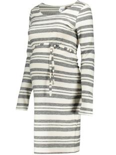 MLTILDA L/S STRIPED JERSEY DRESS 20007038 Snow White