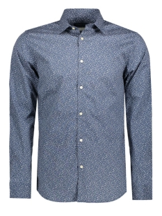 JPRZAK SHIRT L/S PLAIN 12113531 Chambray Blue