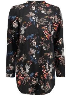Jacqueline de Yong Tuniek JDYIGNIS L/S LOOSE SHIRT FLOWER WVN 15127420 Cloud Dancer/Gnis Flow