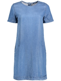 onlNICOLA SS DNM DRESS AKMFT-10 15127565 Medium Blue Denim
