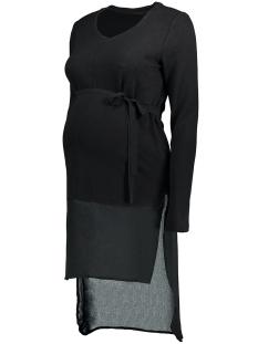 Mama-Licious Positie shirt MLVILLA L/S MIX JERSEY TUNIC 20006957 Black