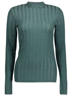 PCNOLLY LS T-NECK BLOUSE CLW 17080395 Scarab