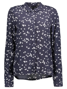 Pieces Blouse PCLACIE SHIRT FF 17081805 Navy Blazer/Stars