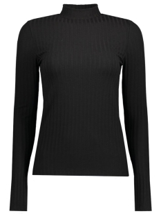 Pieces T-shirt PCAMY LS TURTLENECK TOP NOOS 17079710 Black