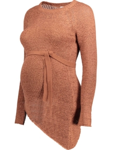 MLCURRY L/S KNIT BLOUSE 20006968 Cedar Wood