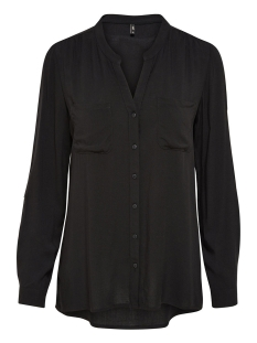 Only Blouse onlFIRST LS POCKET SHIRT NOOS WVN 15133028 Black