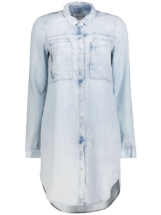 Vero Moda Tuniek VMPIPPER LS LT BLUE TUNIC 10172024 Light blue denim