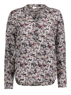 Jacqueline de Yong Blouse JDYCORA L/S SHIRT AOP WVN 15127376 Cloud Dancer/Flower