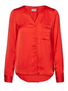 Vero Moda Blouse VMIBI ALBA ELLA L/S SHIRT D2-8 10172749 Racing Red