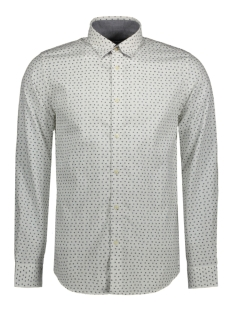 Jack & Jones Overhemd JPRWILBUR SHIRT L/S PLAIN 12117187 White/slim fit
