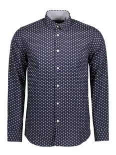 Jack & Jones Overhemd JPRWILBUR SHIRT L/S PLAIN 12117187 Navy blazer