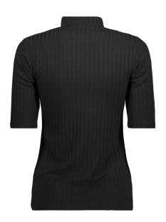 pcamy 2/4 turtleneck top noos 17079709 pieces t-shirt black