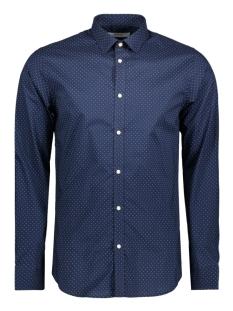 Jack & Jones Overhemd JPRBLACKPOOL SHIRT L/S PLAIN STS 12115430 Navy Blazer