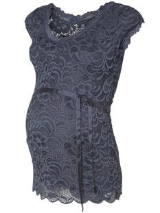 Mama-Licious Positie shirt MLMIVANA CAP WOVEN TOP 20007239 Ombre Blue