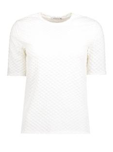 Pieces T-shirt PCNUDE 2/4 TOP CLW 17080465 Cloud Dancer