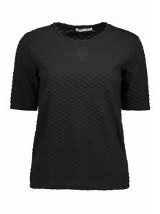 Pieces T-shirt PCNUDE 2/4 TOP CLW 17080465 Black