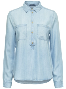 onlMAJA LS BF DNM SHIRT QYT NOOS 15130885 Light Blue Denim