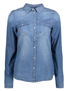 onlROCK IT FIT MB DNM SHIRT BJ7887 15130905 Medium Blue Denim