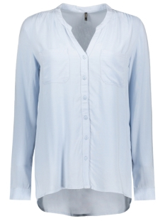 Only Blouse onlFIRST LS POCKET SHIRT NOOS WVN 15133028 Cashmere Blue