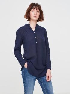 vmina l/s  tunic shirt a 10171491 vero moda blouse navy blazer