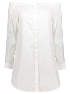 Noisy may Blouse NMNAOMI L/S BELOW SHOULDER SHIRT 2 10173442 Bright White