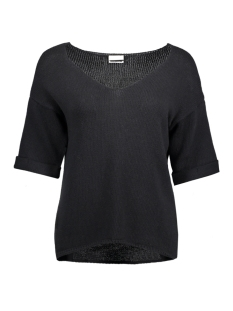 Noisy may T-shirt NMNEW MALIN 2/4 SLEEVE KNIT TOP 10173438 Black