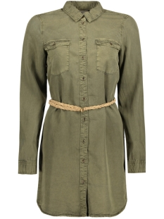 VMZOE LS TECEL LONG SHIRT GA 10176305 Ivy Green