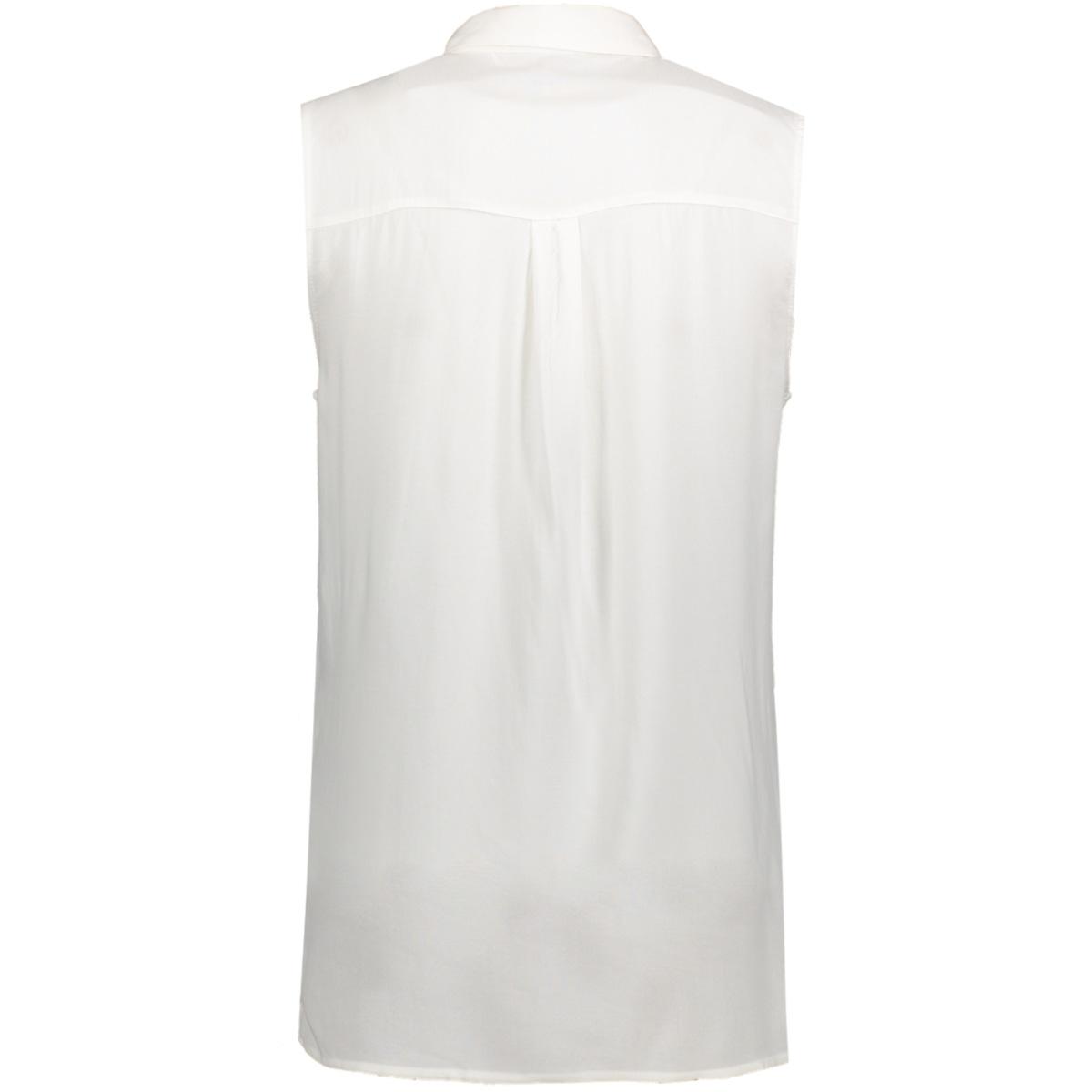 onlfirst sl shirt noos wvn 15133027 only blouse cloud dancer