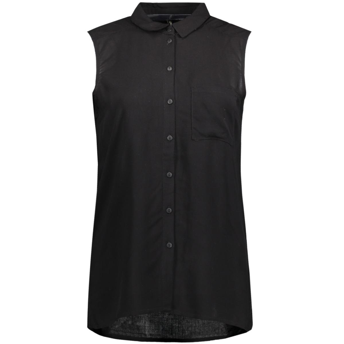 onlfirst sl shirt noos wvn 15133027 only blouse black