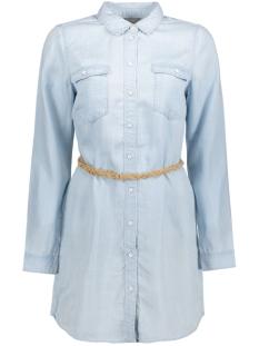 Vero Moda Blouse VMZOE LS TECEL LONG SHIRT GA 10176305 Light Blue Denim