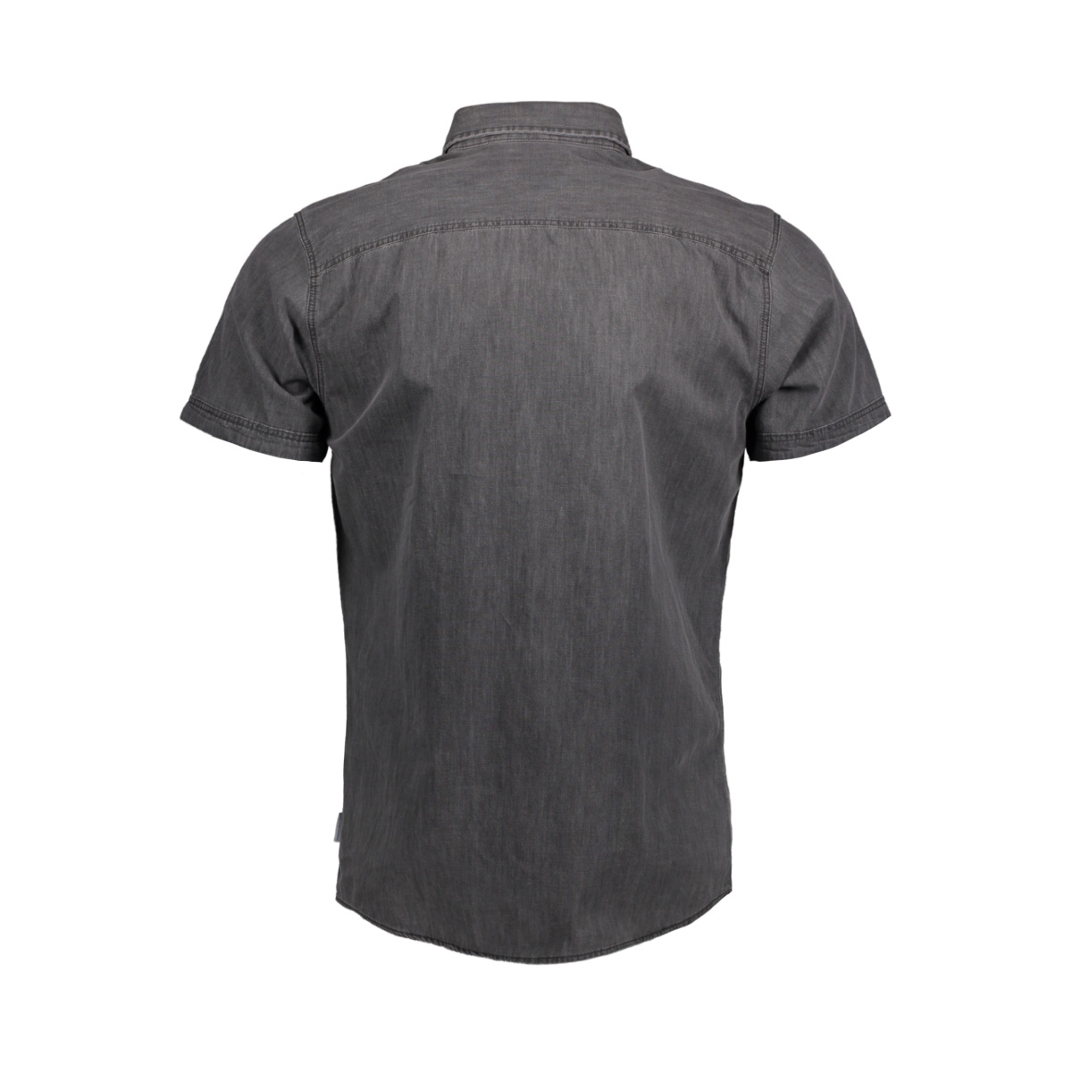 jorone shirt ss noos 12118750 jack & jones overhemd black denim