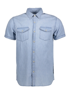 Jack & Jones Overhemd JORONE SHIRT SS NOOS 12118750 Light Blue