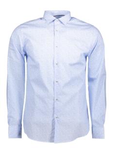 Jack & Jones Overhemd JPROCCASION PRINT SHIRT L/S PLAIN 12120728 Cashmere Blue