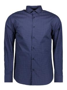 Jack & Jones Overhemd JPROCCASION PRINT SHIRT L/S PLAIN 12120728 Navy Blazers